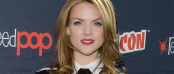 Erin Richards at NYCC for GOTHAM (Image Credit: Eric Reichbaum/FOX)