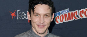 Robin Lord Taylor at NYCC for GOTHAM (Image Credit: Eric Reichbaum/FOX)