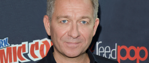 Sean Pertwee at NYCC for GOTHAM (Image Credit: Eric Reichbaum/FOX)