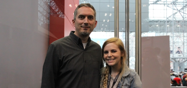 Author James Dashner with TDQ Correspondent Tara Robinson (Image Credit: Sean Torenli / The Daily Quirk)