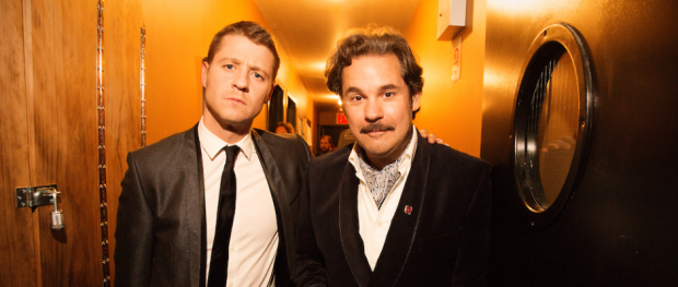 Ben McKenzie and Paul F. Tompkins of THRILLING ADVENTURE HOUR (Image Credit: Mindy Tucker)