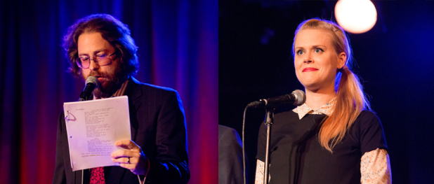 Jonathan Coulton and Janet Varney in THRILLING ADVENTURE HOUR (Image Credit: Mindy Tucker)