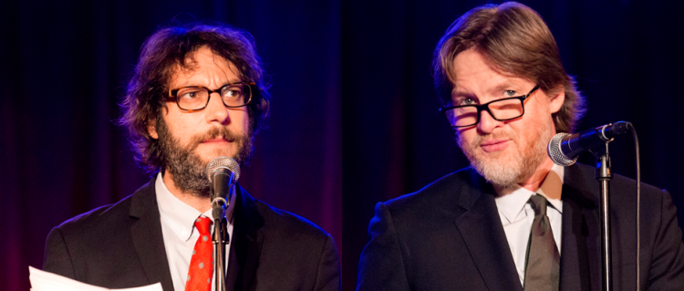 Adam Busch and Donal Logue in THRILLING ADVENTURE HOUR (Image Credit: Mindy Tucker)