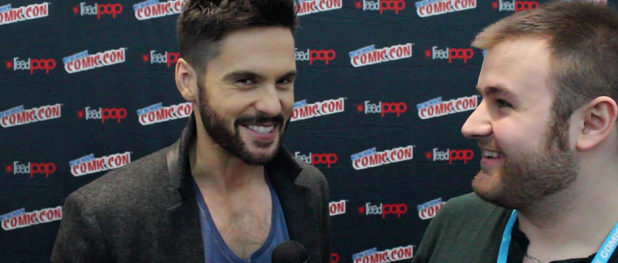 Tom Riley for DA VINCI'S DEMONS (Image Credit: Sean Torenli / The Daily Quirk)