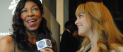 Natalie Cole with TDQ Correspondent Lauren Gambino at THE ANGEL BALL (Image Credit: The Daily Quirk)