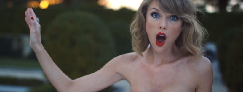 BLANK SPACE Music Video (Image Credit: Taylor Swift Vevo)
