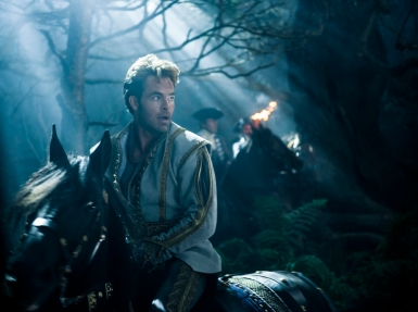 Chris Pine in INTO THE WOODS (Image Credit: Peter Mountain/Disney)