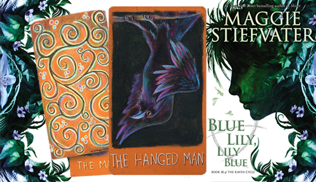 Limited Edition Maggie Stiefvater Major Arcana Tarot Deck and BLUE LILY, LILY BLUE (Image Credit: Maggie Stiefvater)