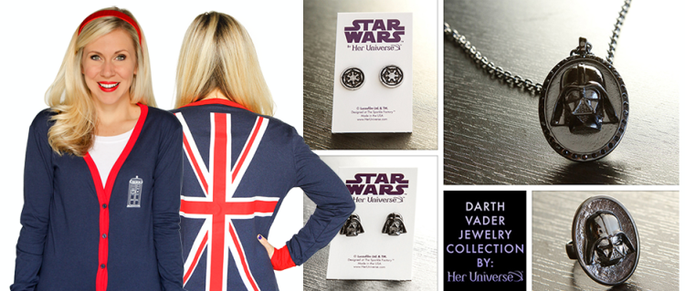 Her Universe debuts new gifts for fangirls just in time for the holidays!