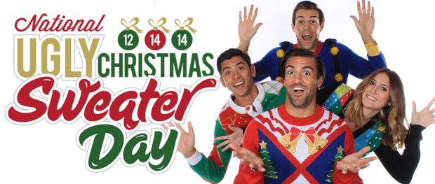 (Image Credit: National Ugly Christmas Sweater Day Organization)