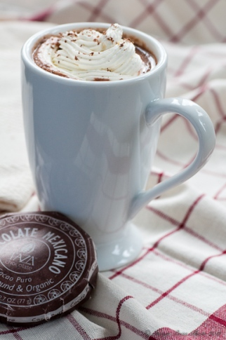 Spiced Mexican Hot Chocolate (Image Credit: Bunkycooks)