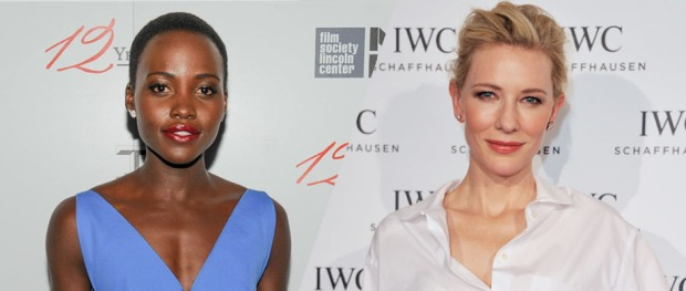Lupita Nyong'o (Image Credit: Neil Rasmus/BFAnyc.com) / Cate Blanchett _)(Image Credit: Harold Cunningham/Getty Images for IWC)