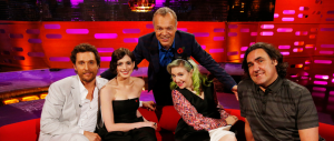 THE GRAHAM NORTON SHOW (Image Credit: PA)