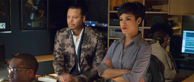Terrence Howard and Grace Gealey in EMPIRE (Image Credit: Chuck Hodes/FOX)