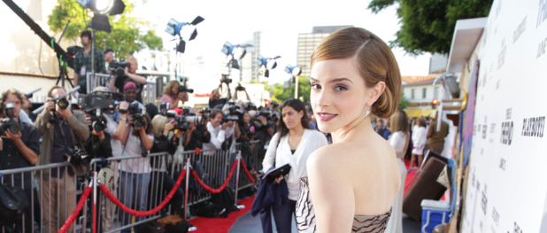 Emma Watson on the THIS IS THE END Red Carpet (Image Credit: Eric Charbonneau / 2013 Columbia TriStar Marketing Group)