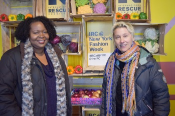 Melissa Meredith and Sandy Borgman of the IRC (Image Credit: Lauren Gambino / The Daily Quirk)