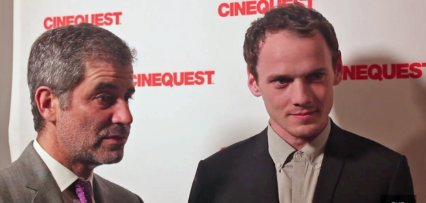 Victor Levin and Anton Yelchin (Image Credit: Franko-Niko Valencia/The Daily Quirk)