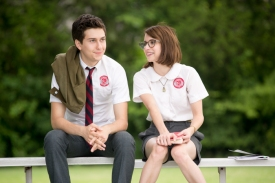 Nat Wolff and Emma Roberts in ASHBY (Image Credit: Christopher Baffa)