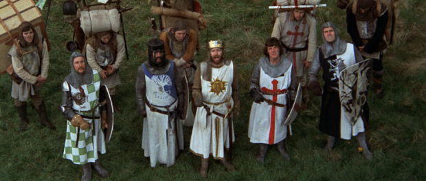 MONTY PYTHON AND THE HOLY GRAIL (Image Credit: Sony Pictures)
