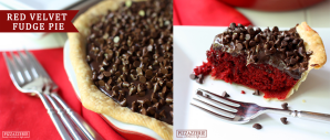 Red Velvet Pie Recipe (Image Credit: Pizzazzerie)