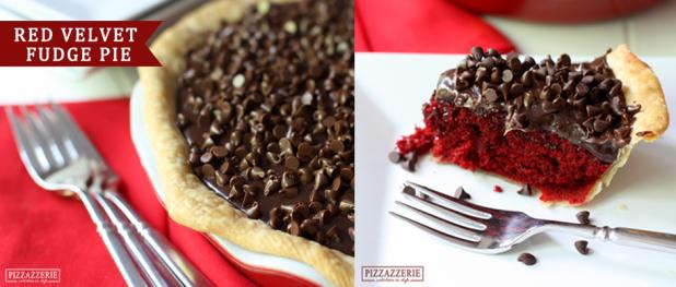 Red Velvet Pie Recipe (Image Credit: Pizzazzerie)