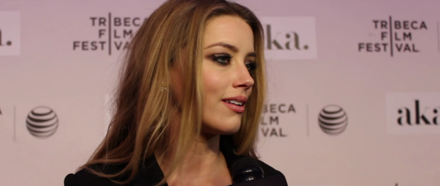 Amber Heard on THE ADDERALL DIARIES Red Carpet (Image Credit: Sean Torneli / The Daily Quirk)