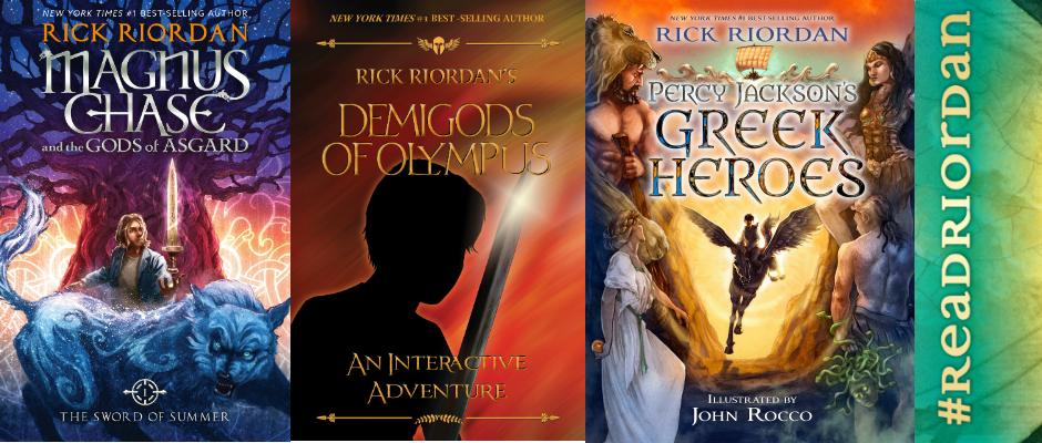 upcoming books by rick riordan