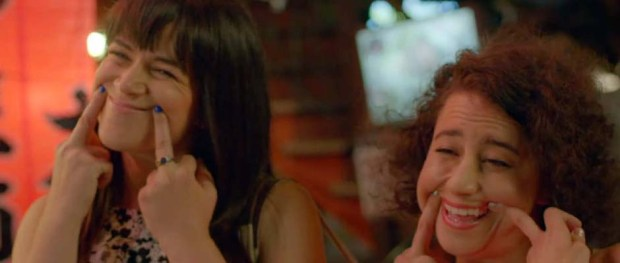 Abbi Jacobson and Ilana Glazer in BROAD CITY (Image Credit: Comedy Central)
