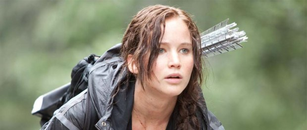 Jennifer Lawrence as Katniss Everdeen in THE HUNGER GAMES (Image Credit: Lionsgate)
