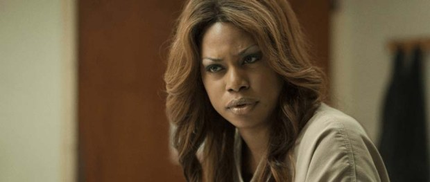 Laverne Cox as Sophia Burset in ORANGE IS THE NEW BLACK (Image Credit: Netflix
