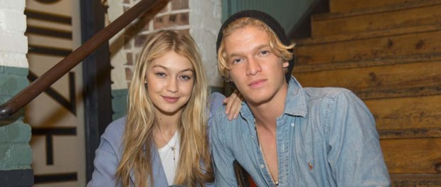 Gigi Hadid and Cody Simpson (Image Credit: Brian Birzer/MixRadio via Getty Images)