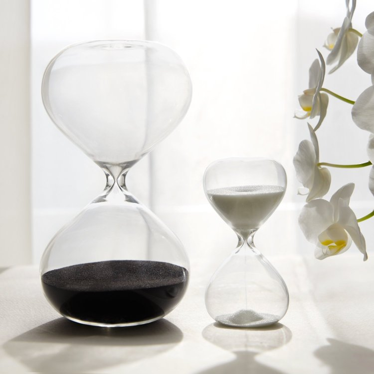 30 & 5 Minute Gravity Hourglasses - Time Management Set (Image Credit: Amazon)