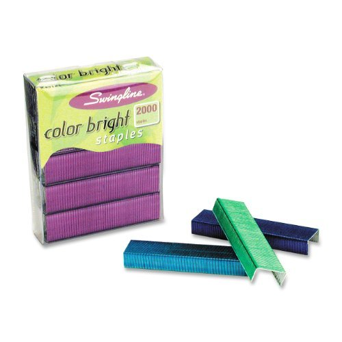 Swingline Color Bright Staples (Image Credit: Amazon)