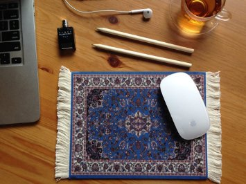 Mouse Pad Persian Style Carpet (Image Credit: Amazon)