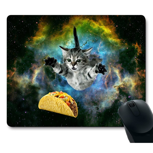 Dauntless Fight Running Cat for Taco Mouse Pad (Image Credit: Amazon)