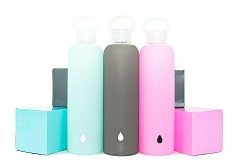 DRIPP WTR BPA-Free Glass Water Bottle (Image Credit: Amazon)